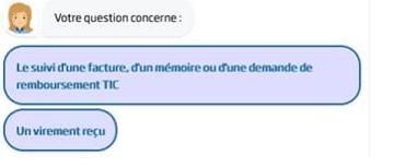 Capture d'écran illustrant une conversation avec ClaudIA