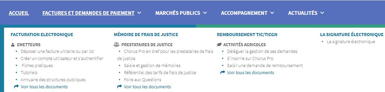 """Ecran d'information pour retrouver la rubrique """"Annuaire"""""""